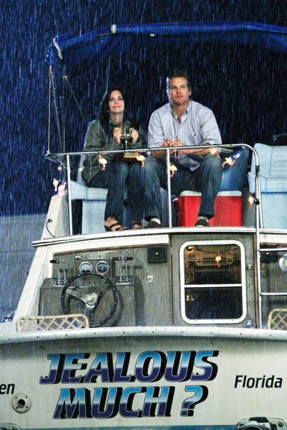 June: Courteney Cox & Brian Van Holt