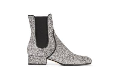 Thanks to Jimmy Choo, there's no need to wear your glitter boots high. This low-heeled pair are in the sale so quick, quick, quick!