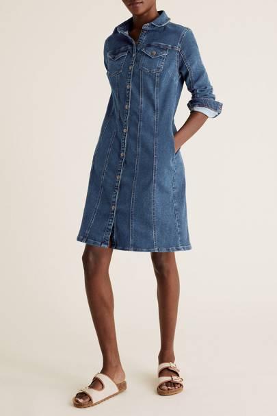 Best Denim Dresses - Shirt Dress