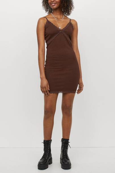 Best Slip Dresses of Summer 2021 - Lace Trim