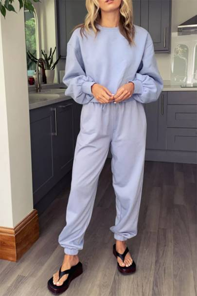 The summer pastel tracksuit