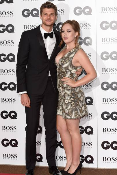 Tanya Burr and Jim Chapman