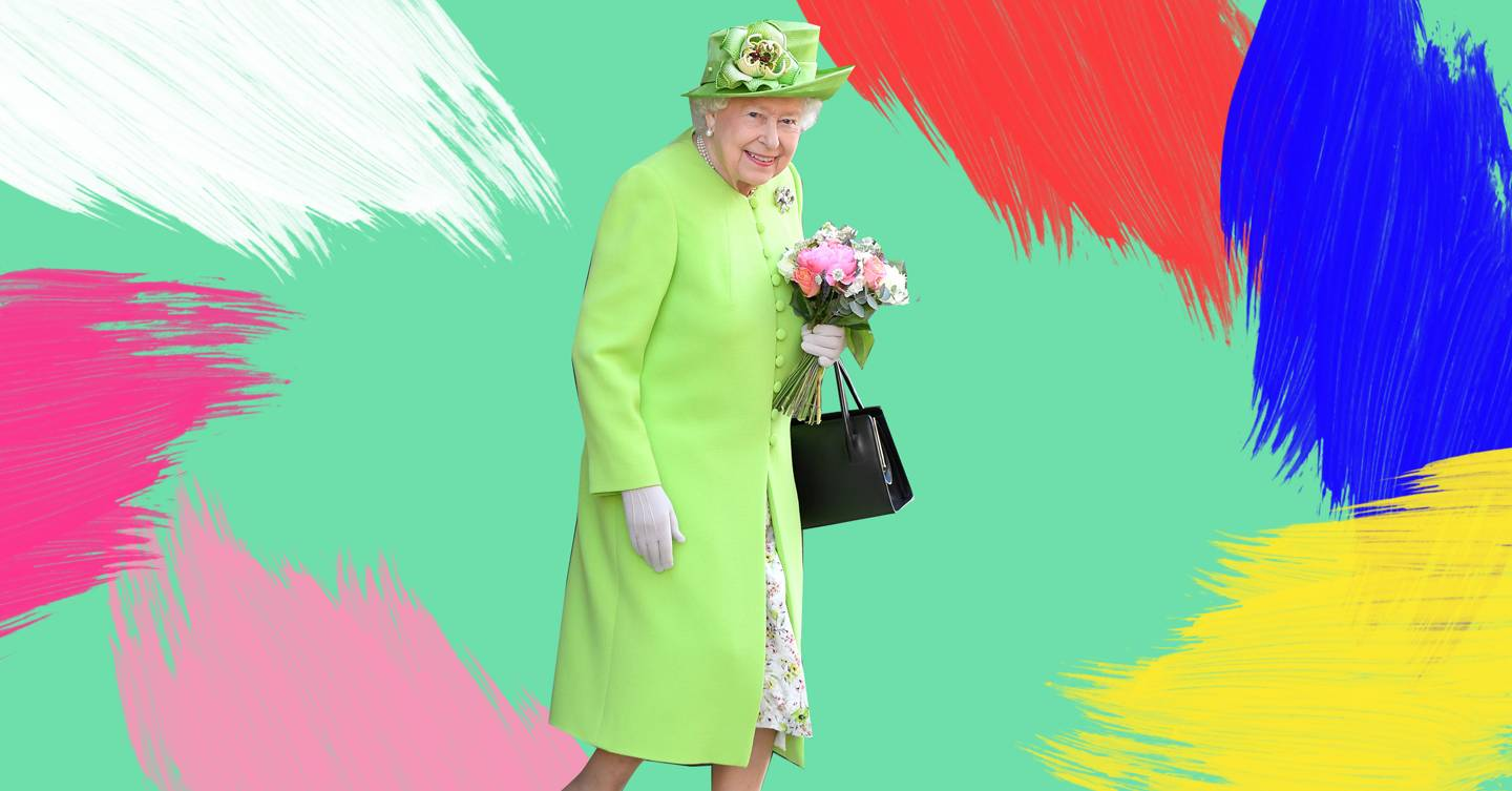 Our rainbow queen! Why Queen Elizabeth II is the undisputed British style icon