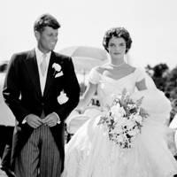 Jacqueline Bouvier & John F Kennedy
