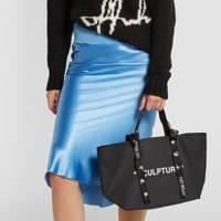Best designer tote bag: Slogan style