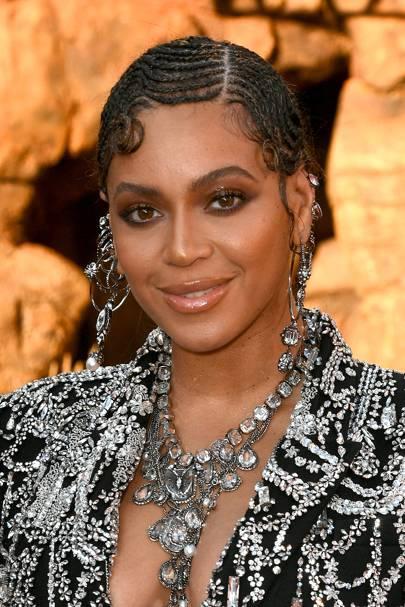 Astonishing Beyonce Knowles Natural Hair Hairstyles Beauty Looks Glamour Uk Schematic Wiring Diagrams Phreekkolirunnerswayorg