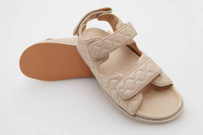 UGLY SHOES: PINK DAD SANDALS