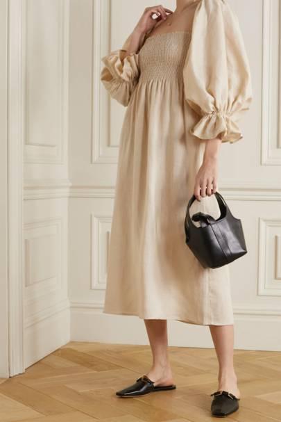 POST-LOCKDOWN SUMMER DRESSES: SHIRRED