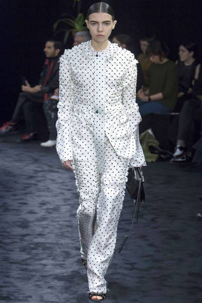 This Comfy Looking Polka Dot Outfit From Loewe