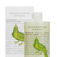 Green & Spring Revitalising Light Bath Oil, £24 for 100ml