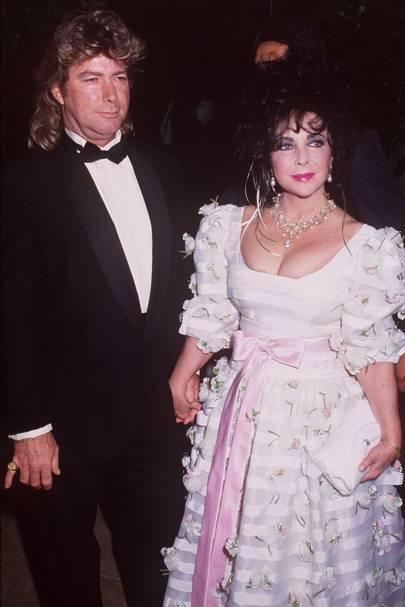 8. Elizabeth Taylor and Larry Fortensky