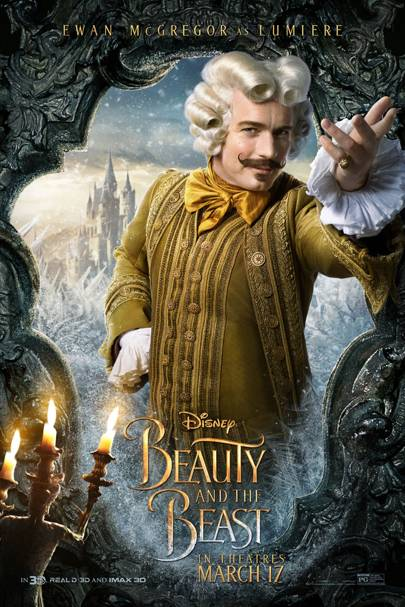 Beauty The Beast Trailer Poster Release Date Pictures