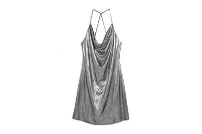 aa1a72ac Metallic silver dress, £13.00, Primark