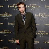 Robert Pattinson at the Australian premiere for Breaking Dawn 2