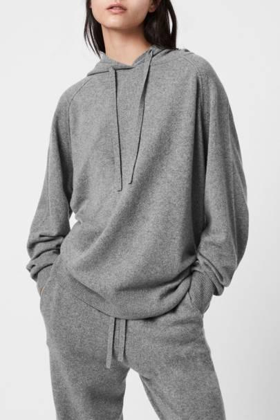 Best grey loungewear hoodie