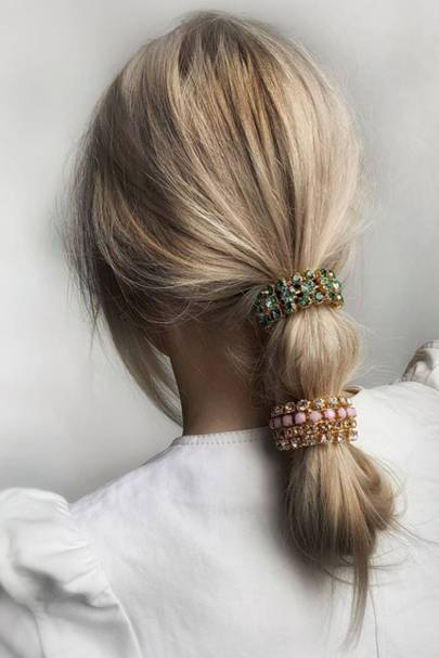 Embellished ponytail