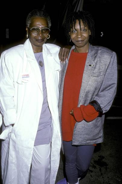 Whoopie Goldberg on her mother  -