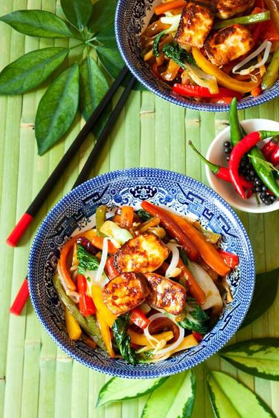 Tofu & Vegetable Stir Fry
