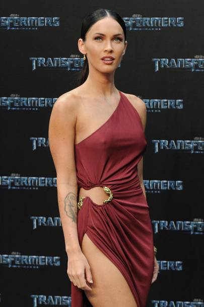 On Transformers (ie the film that made her famous)