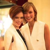 Coco Rocha and Karlie Kloss