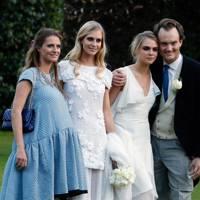 Chloe, Poppy and Cara Delevingne