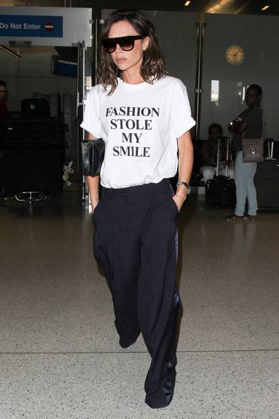 bed04c8d53 Fashion Stole My Smile - yes, Victoria Beckham! Shop: V-B's Target tee