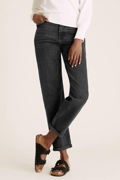 Best Black Jeans - Boyfriend Cut