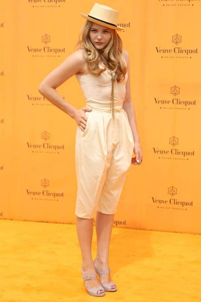 DO #16: Chloe Moretz at the Gold Cup Polo Final, July