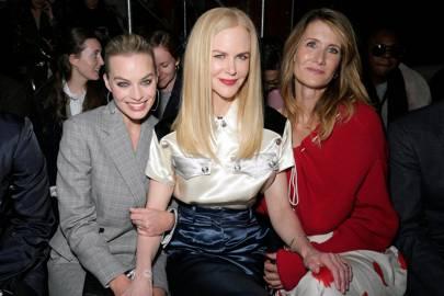 Margot Robbie, Nicole Kidman and Laura Dern