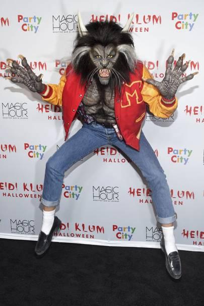 Heidi Klum as Michael Jackson Thriller
