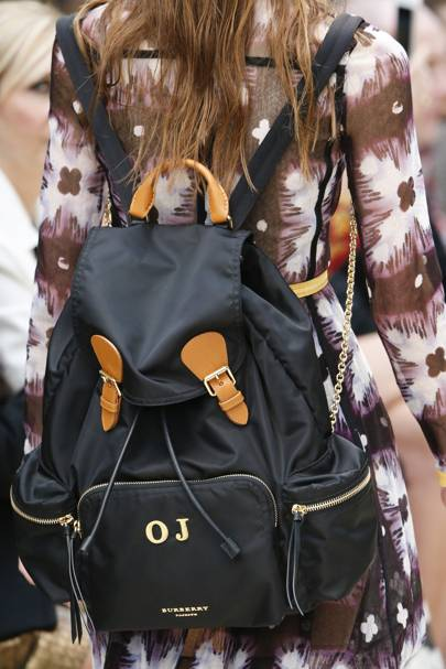 THE BAG: Burberry rucksack