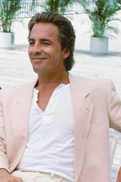 Don Johnson, Miami Vice