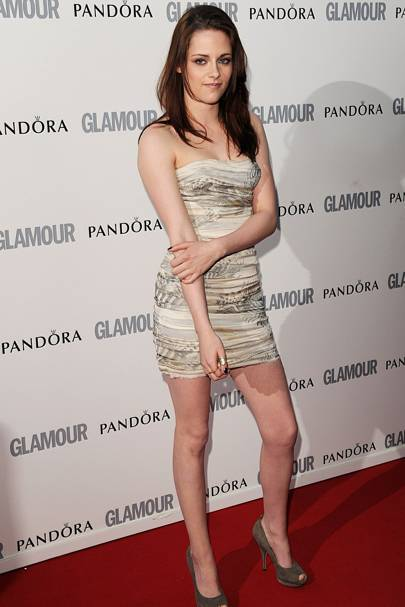 Kristen Stewart – All Ruched Up