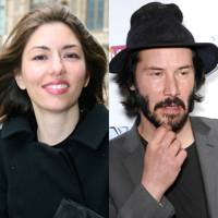 Sofia Coppola and Keanu Reeves