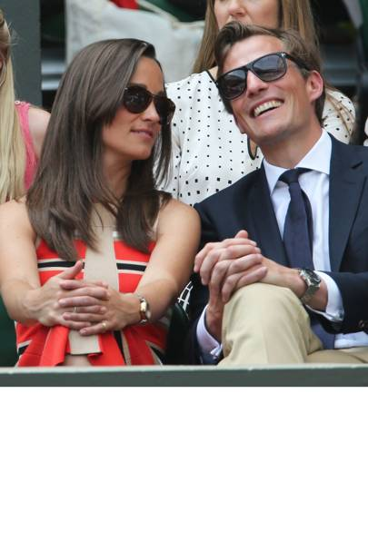 April: Nico Jackson & Pippa Middleton