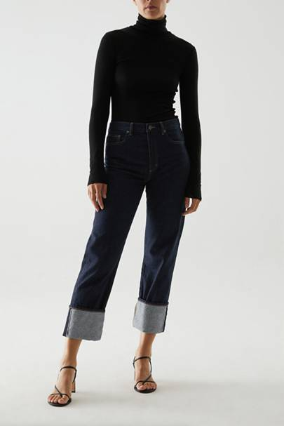 Best high-waisted jeans: COS