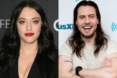 Kat Dennings and Andrew W. K.