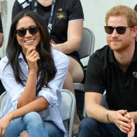 She met her fiancé Prince Harry, through his old school friend