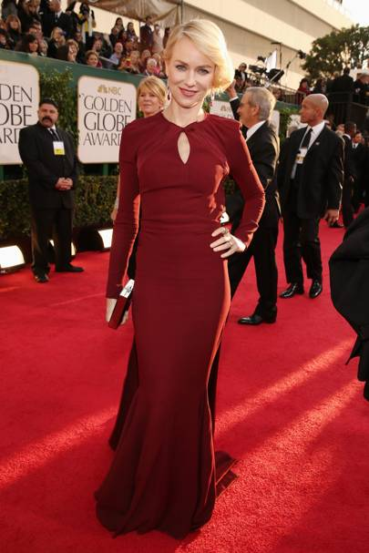 Naomi Watts at the Golden Globes