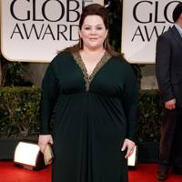 Melissa McCarthy at the Golden Globes 2012