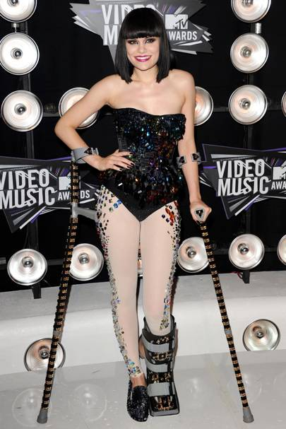 Jessie J at the MTV VMAs 2011