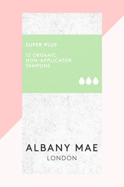 The super plus organic tampons