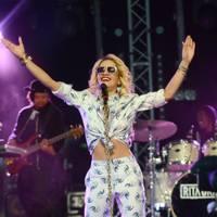 Rita Ora performs at Radio 1's Hackney Weekend