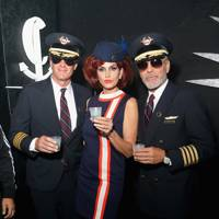 Cindy Crawford as an Air Hostess