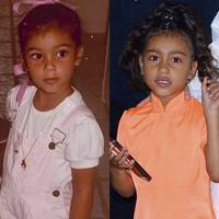 Kim Kardashian-West and North West, Age 4