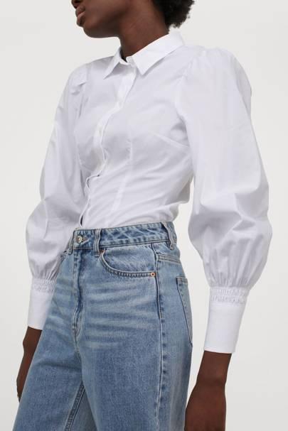 Best Women's White Shirts - H&M
