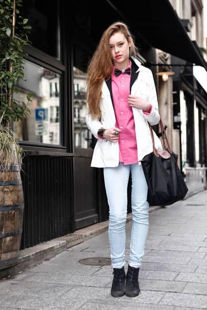 Gulacsy Cyriella, Art Student, Paris