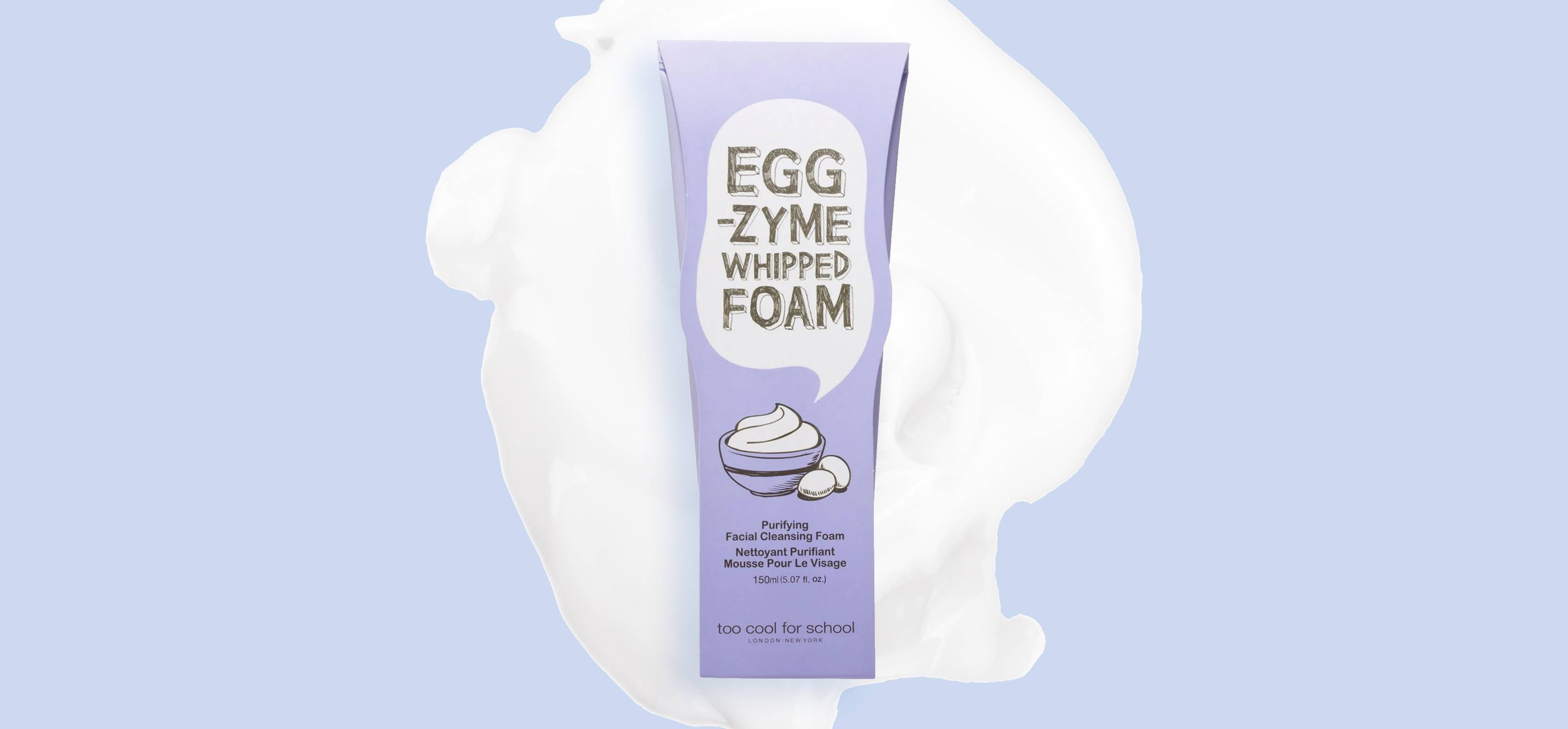 This 5-star egg cleanser keeps selling out because it's the first of its kind in the UK