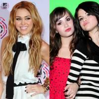 Miley Cyrus vs. Selena Gomez & Demi Lovato