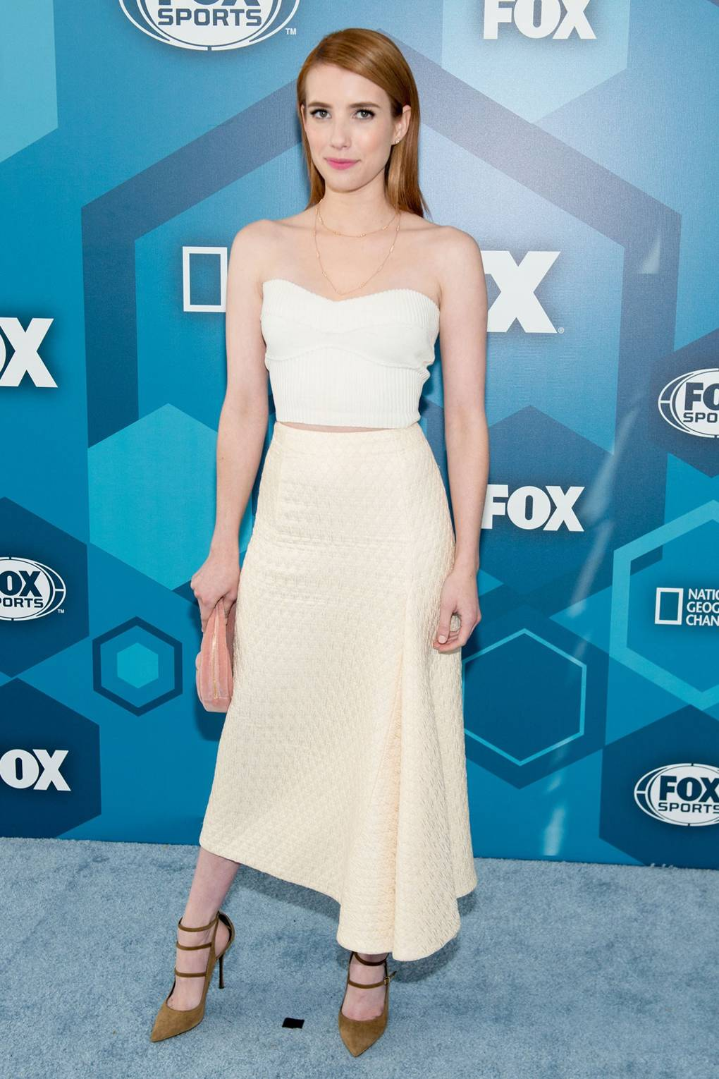Emma Roberts Street Style Red Carpet Fashion Best Looks Outfits Glamour Uk